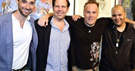 Hamptons Magazine - Joshua Garay, Conrad Steinmann, William Quigley, and Eddie Star