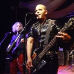 Eddie Star and JoyBox Lead Guitarist Christian Schenk performing live in New York City.