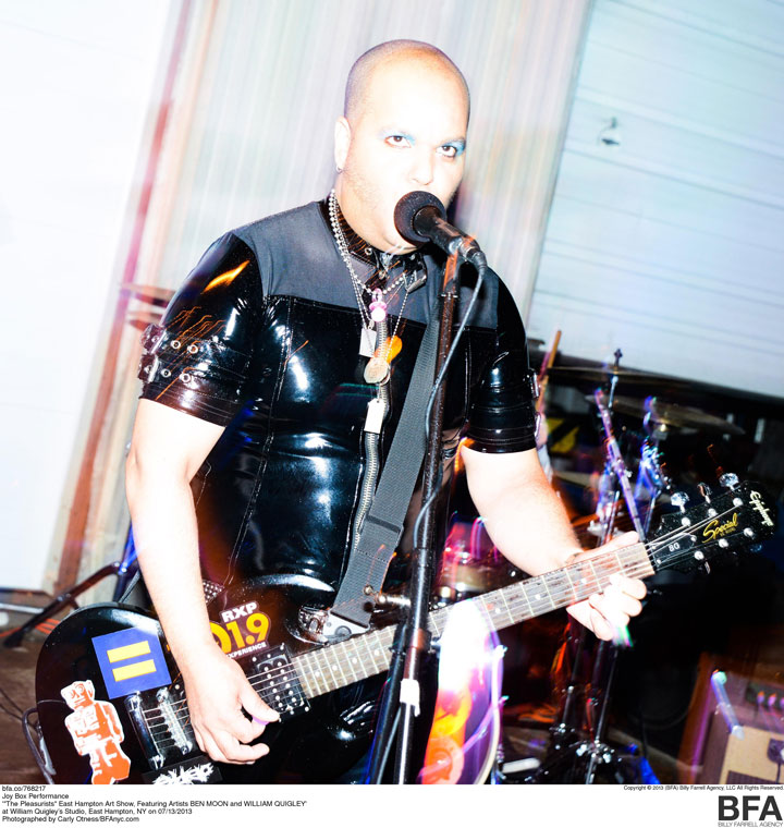 EDDIE STAR performing with JoyBox live in East Hamption, New York.