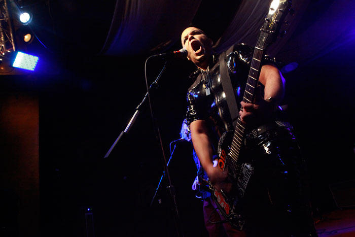 Eddie Star performing with JoyBox in New York.