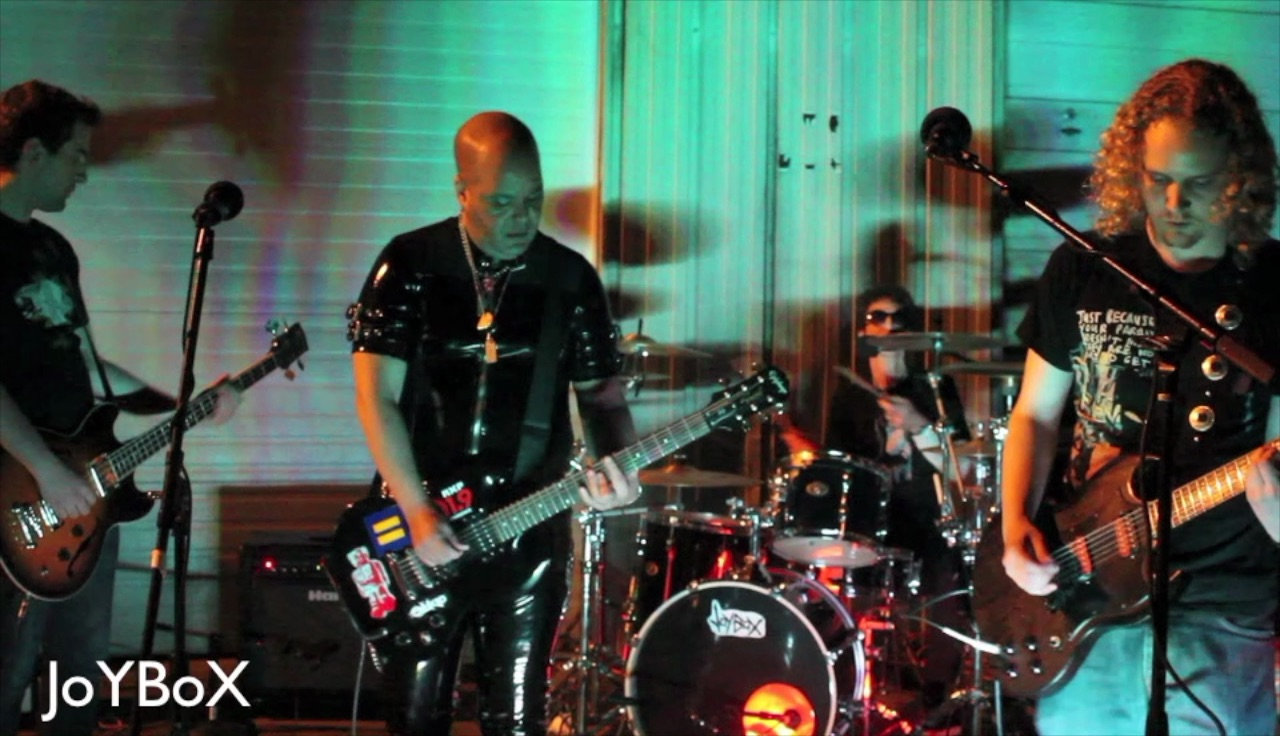 Eddie Star with JoyBox live in East Hampton, New York